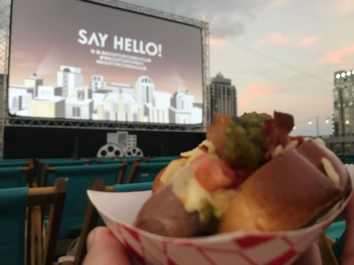 Rooftop Cinema Club Houston