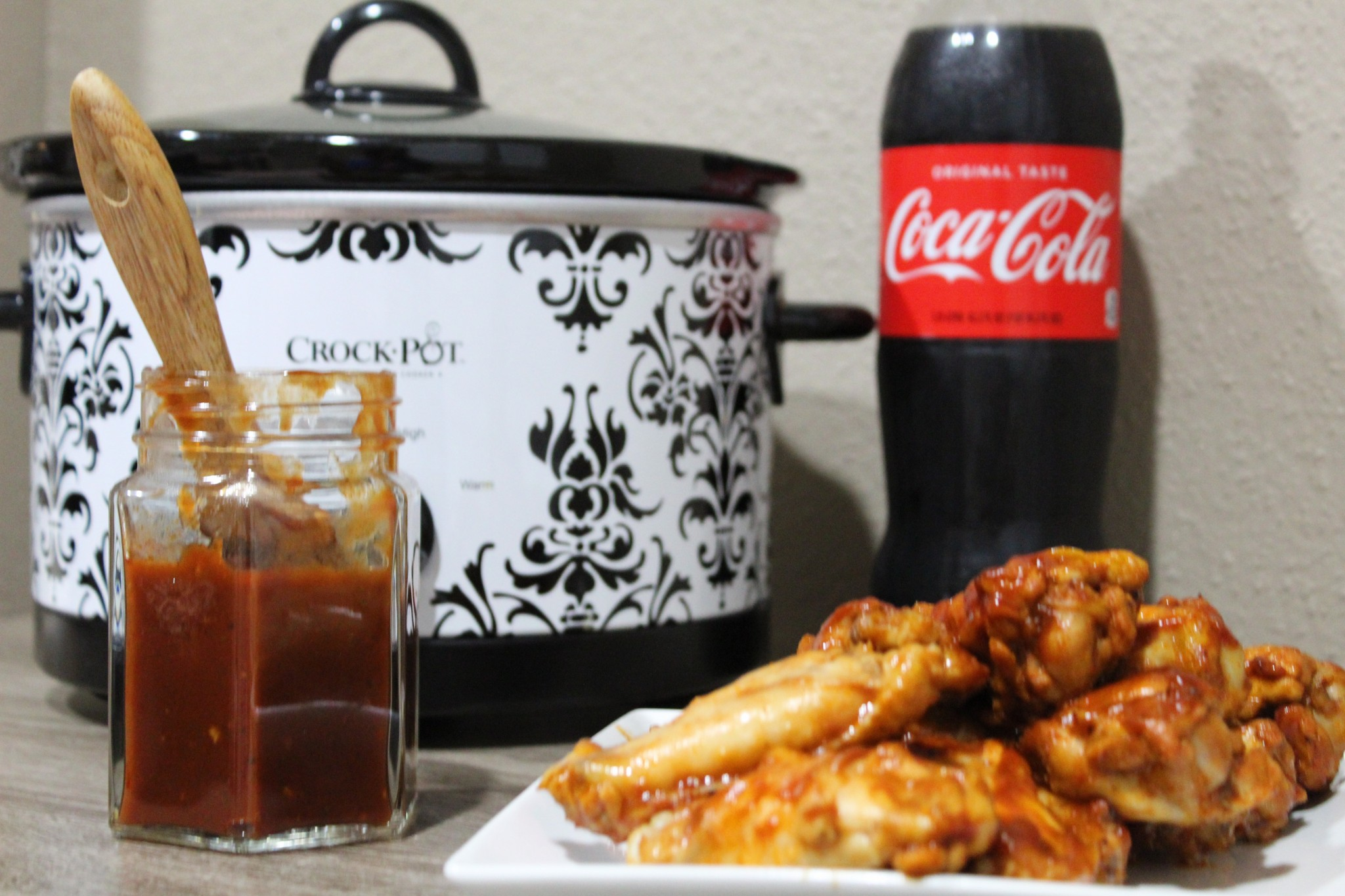 Coca-Cola Barbecue Wings